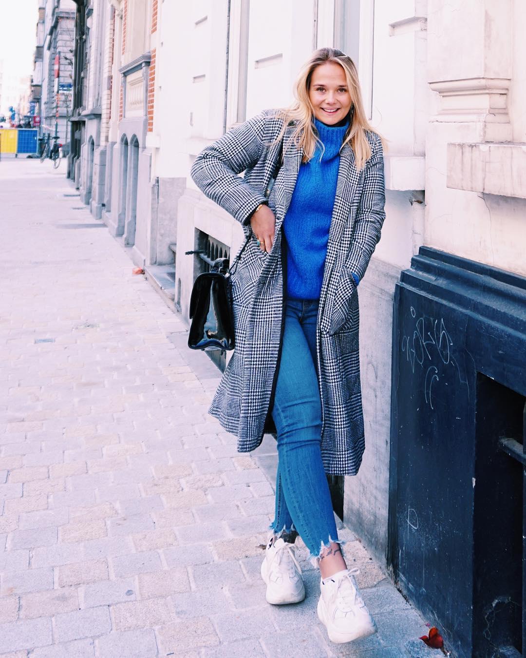 blue indy jumper de Les Bourgeoises sur dpzjulie