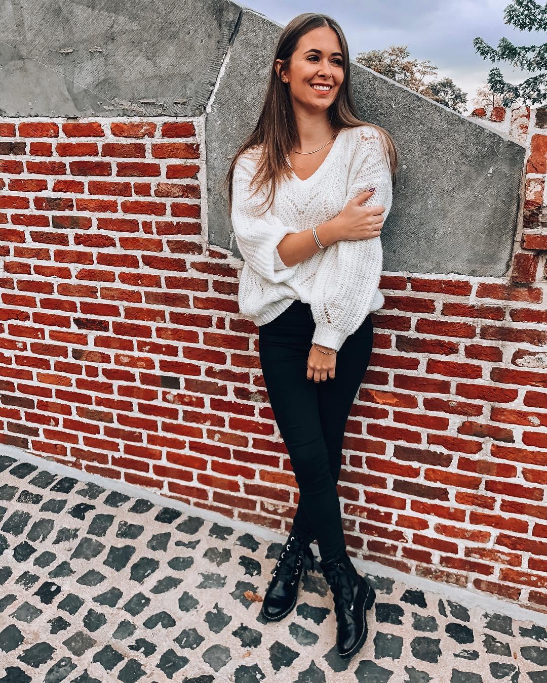 pantalon noir taille haute de Les Bourgeoises sur eliengrosemans