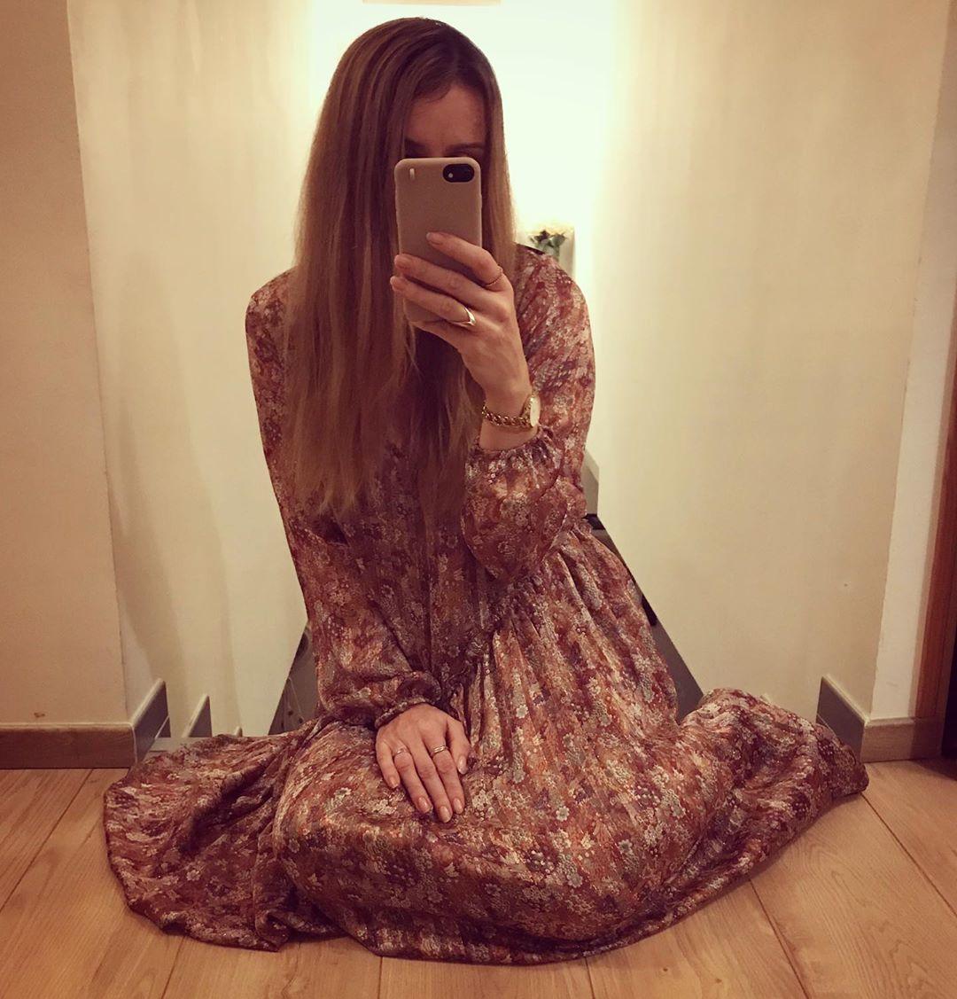 robe rouille toscane de Les Bourgeoises sur sabynnsta