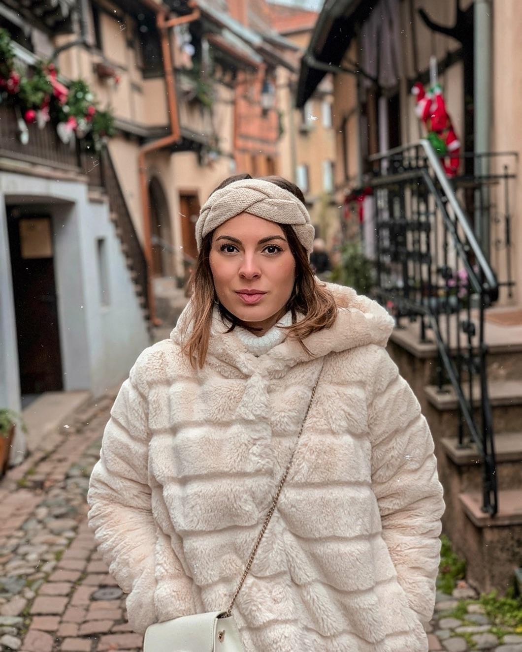 khaki doudou coat de Les Bourgeoises sur melusinelv