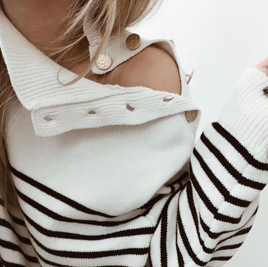 pull marinière will de Les Bourgeoises sur intemporel.shop