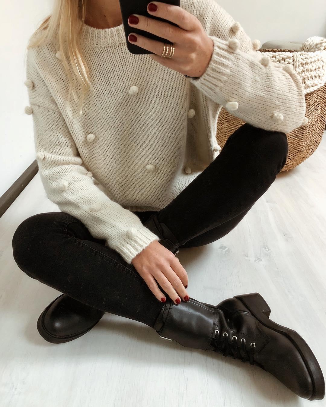 pantalon noir taille haute de Les Bourgeoises sur lesbourgeoisesofficiel