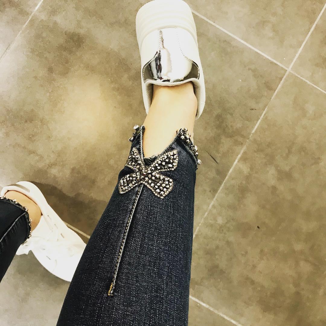 jeans toxik 3 de Les Bourgeoises sur fashionfeliz