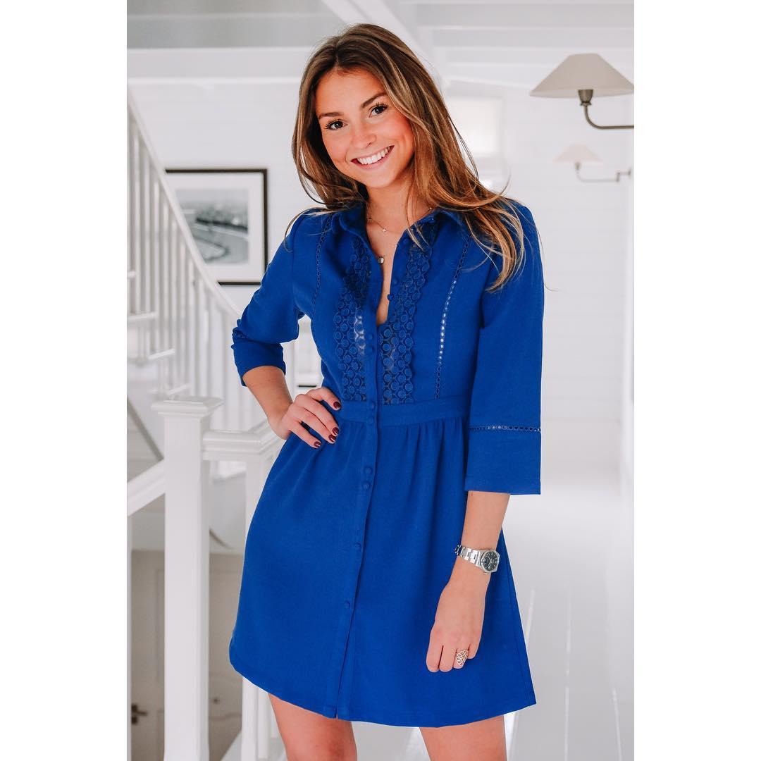 robe bleu roi de Les Bourgeoises sur ophelie_dh