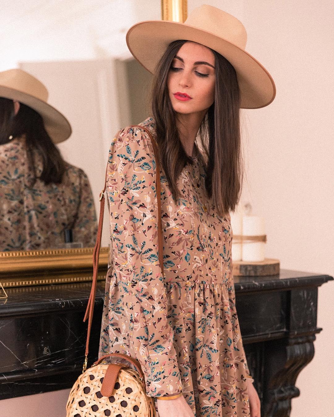 powdery floral dress de Les Bourgeoises sur stellaetsuzie