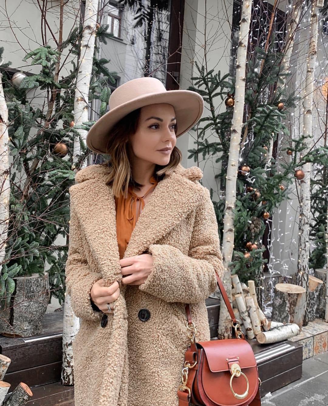 manteau à texture effet mouton de Zara sur zara.mania