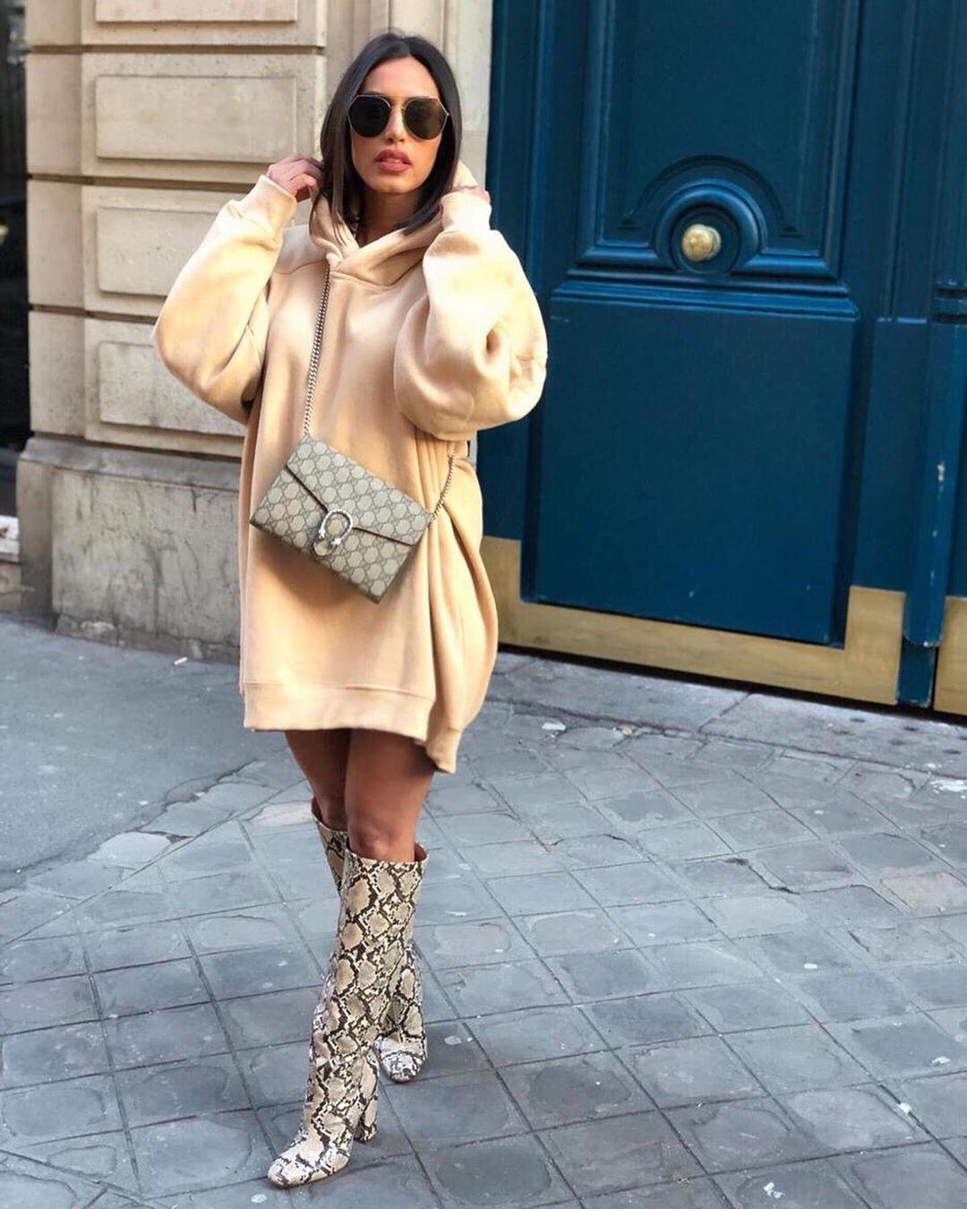 heeled boots and animal print de Zara sur just.anram