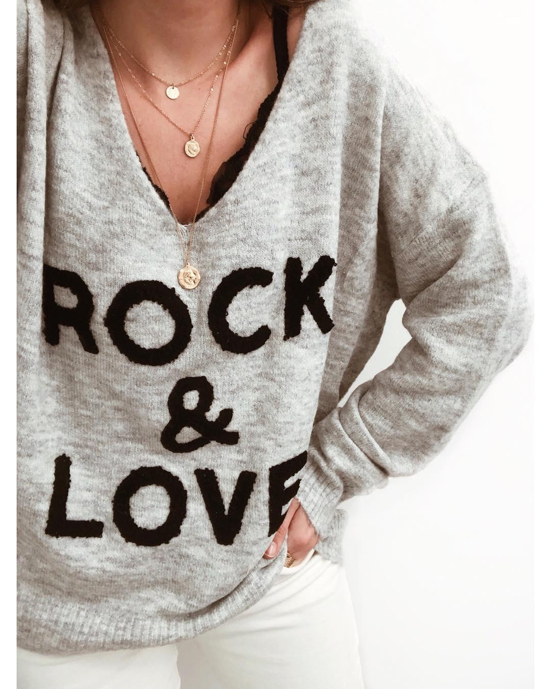 pull rock & love de Les Bourgeoises sur gualap_shop