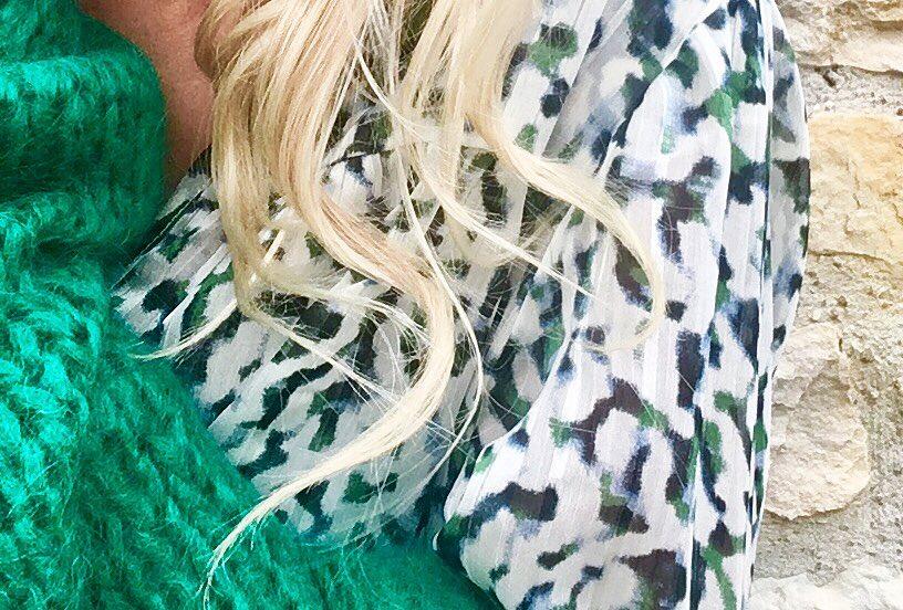 new bernadette vert de Les Bourgeoises sur poupeepoudree