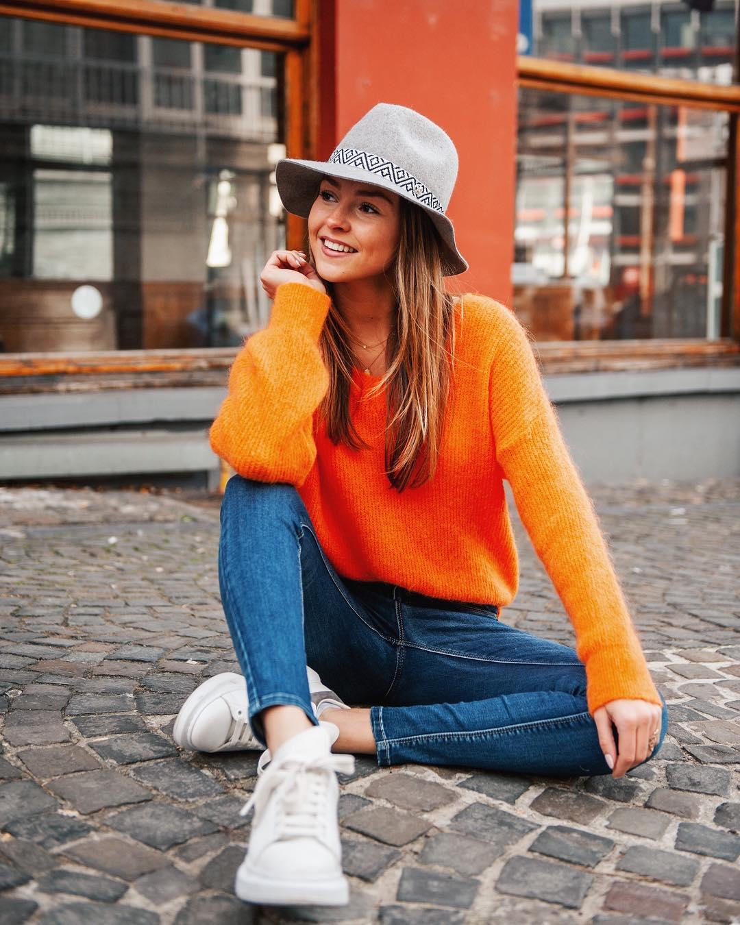 jeans slim de Les Bourgeoises sur ophelie_dh