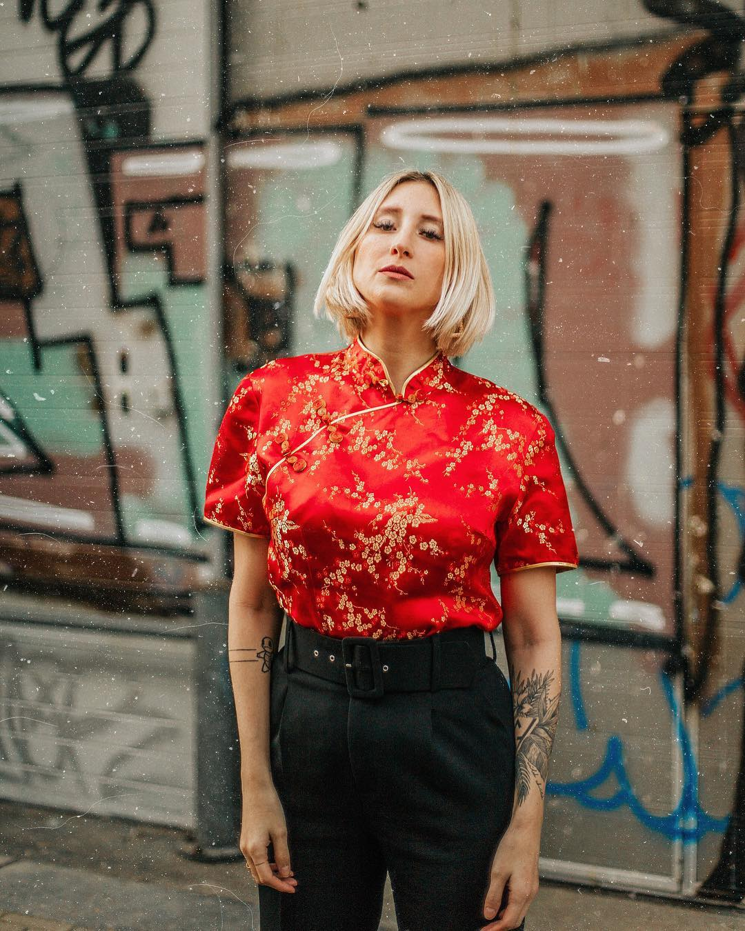 pantalon à pinces et ceinture de Zara sur thewildgirlblog