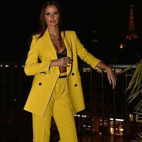 crossover breasted jacket de Zara sur fandesmissoff