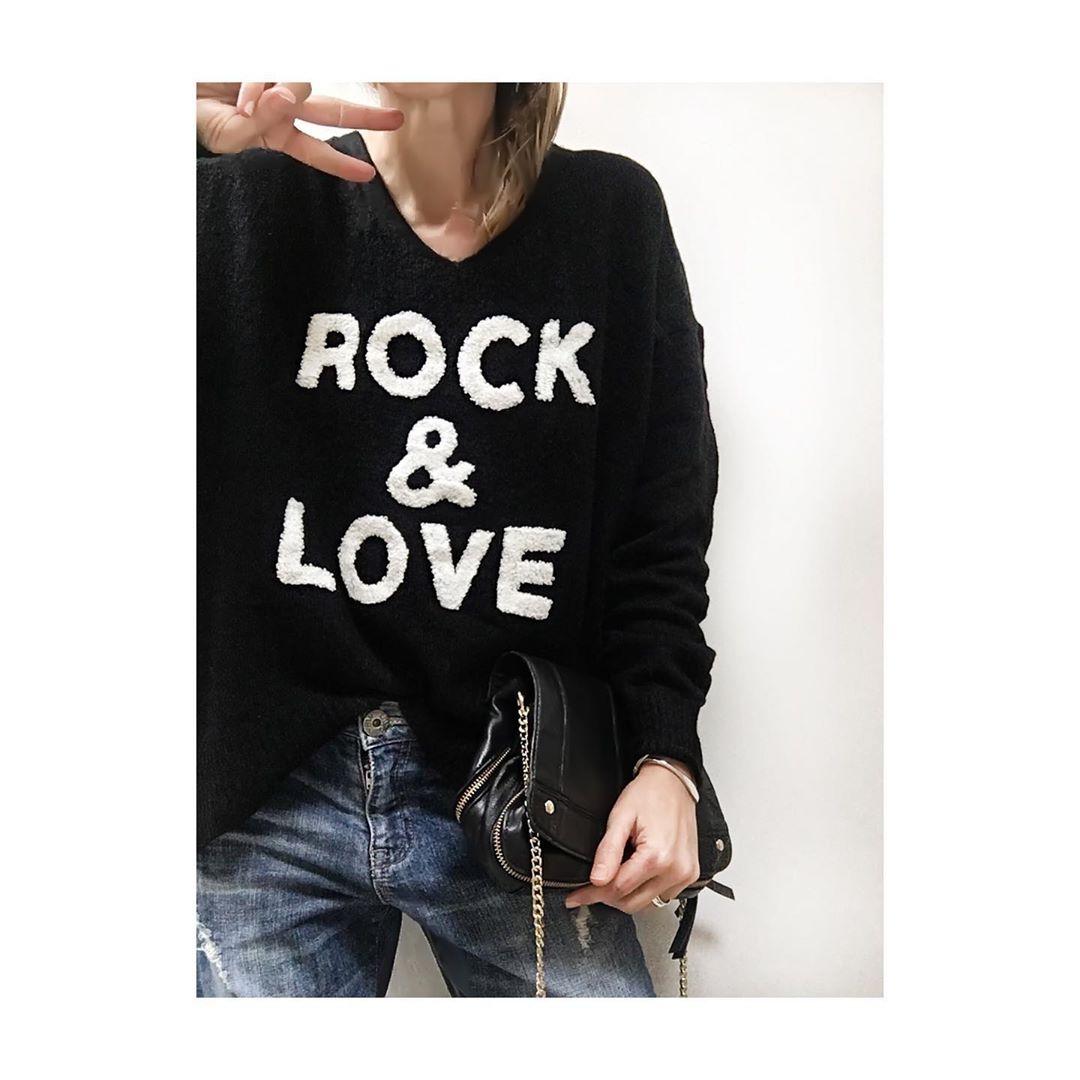 pull rock & love de Les Bourgeoises sur monlook.fr