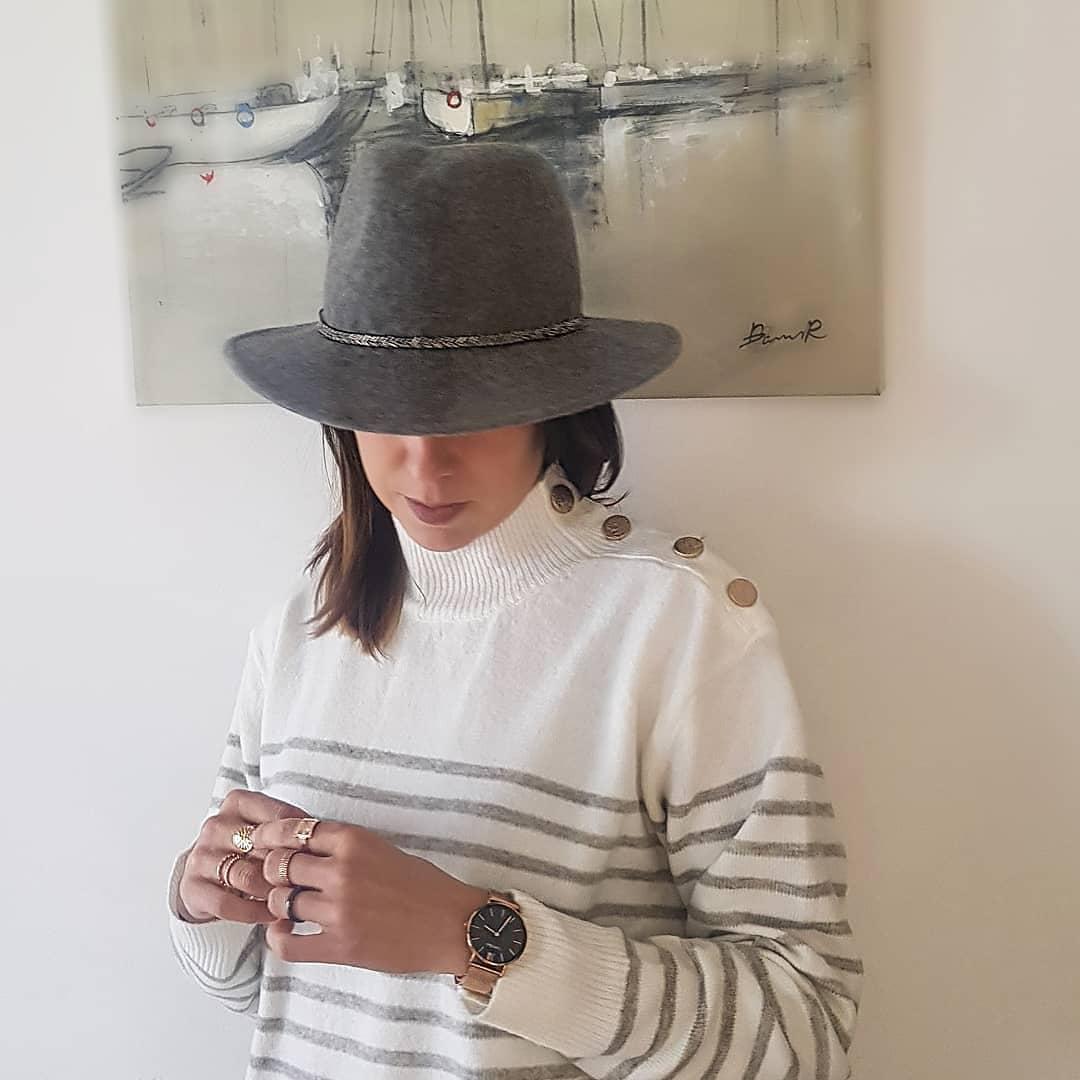 pull marinière will de Les Bourgeoises sur magicaroh