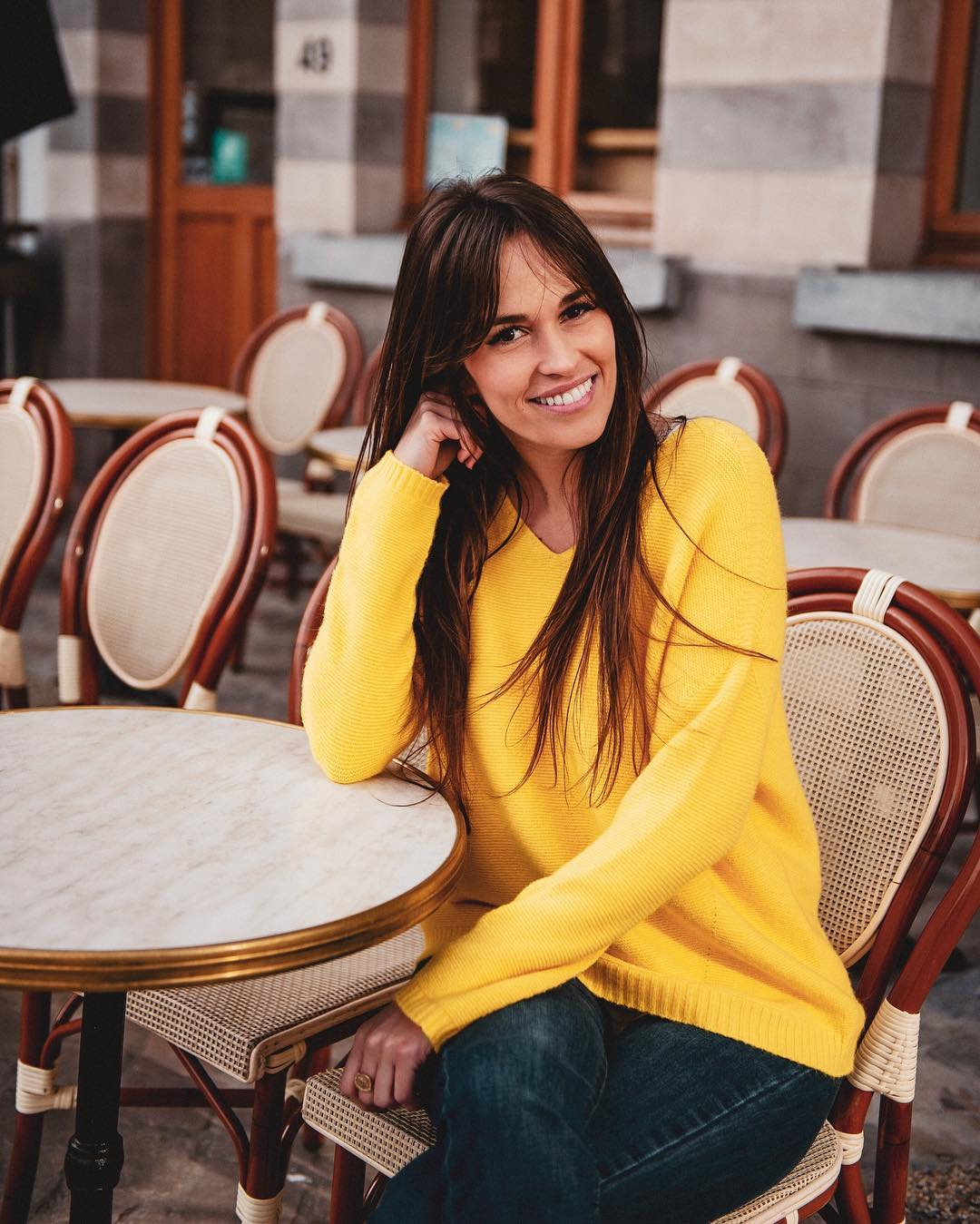 pull jaune serena de Les Bourgeoises sur lesbourgeoisesofficiel