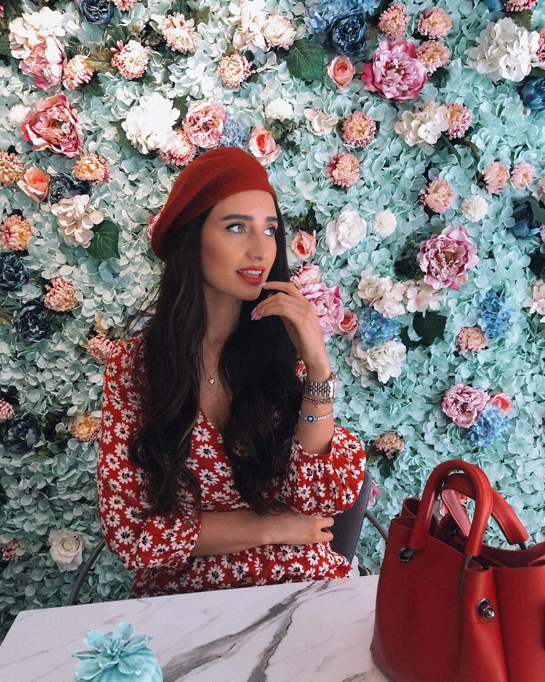 jumpsuit printed dress de Zara sur yasmin_tz