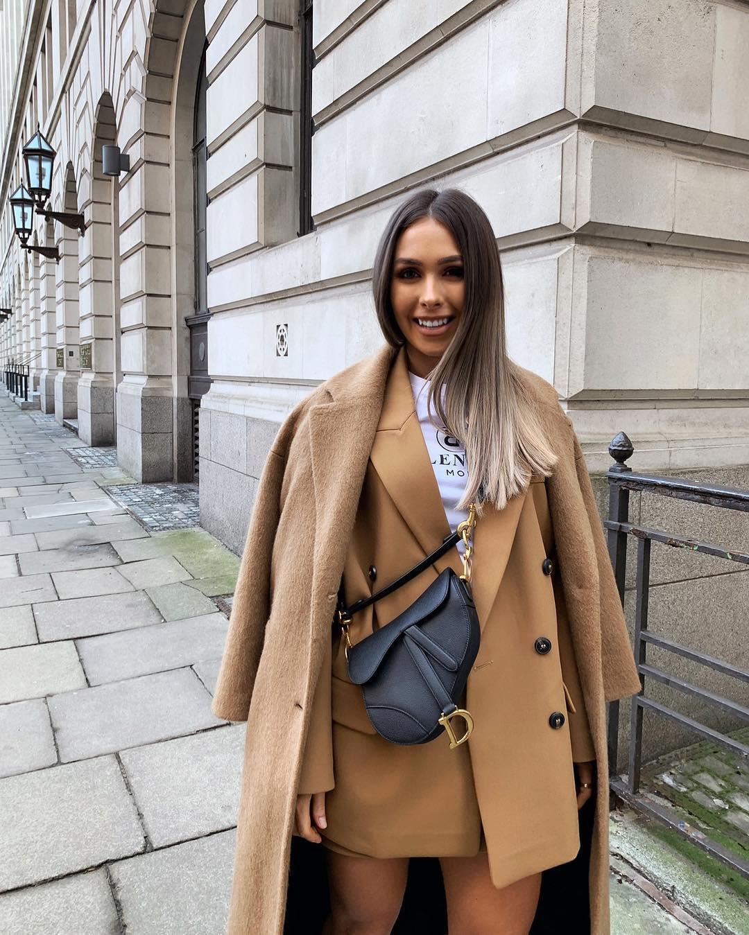 oversized blazer de Zara sur nataliakurda