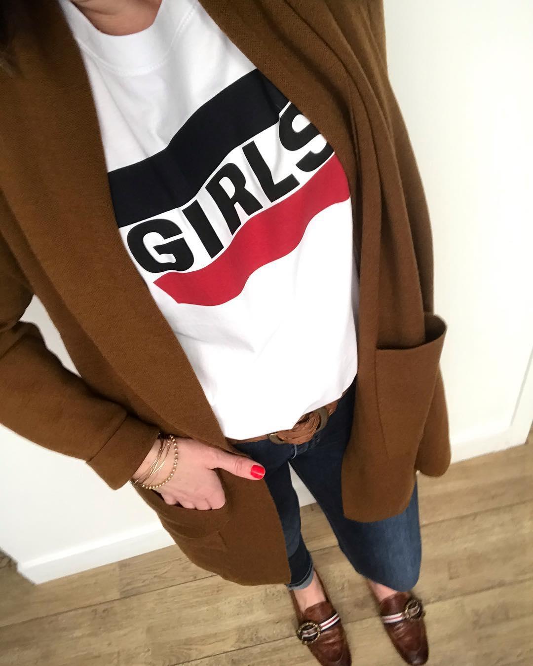 white girls levis t-shirt de Les Bourgeoises sur i.loveandn.black