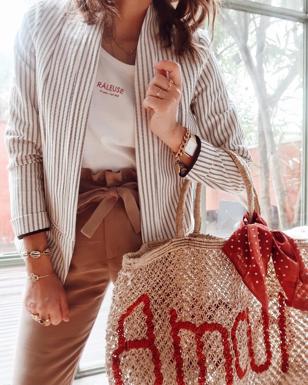 pantalon caramel de Les Bourgeoises sur lilylovesfashion