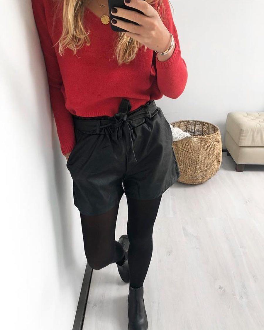 pull rouge serena de Les Bourgeoises sur scanlesbourgeoises