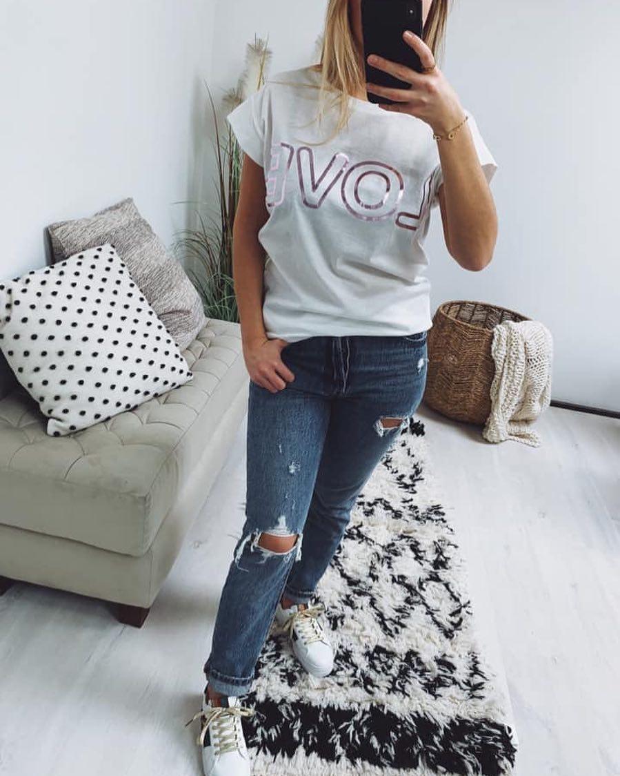 t-shirt love de Les Bourgeoises sur scanlesbourgeoises