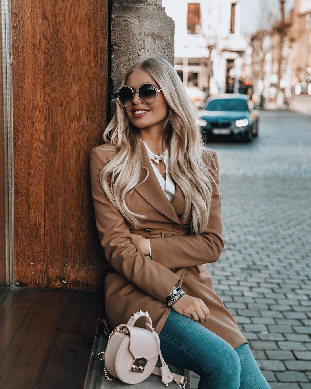 veste à ceinture de Zara sur annabelpesant