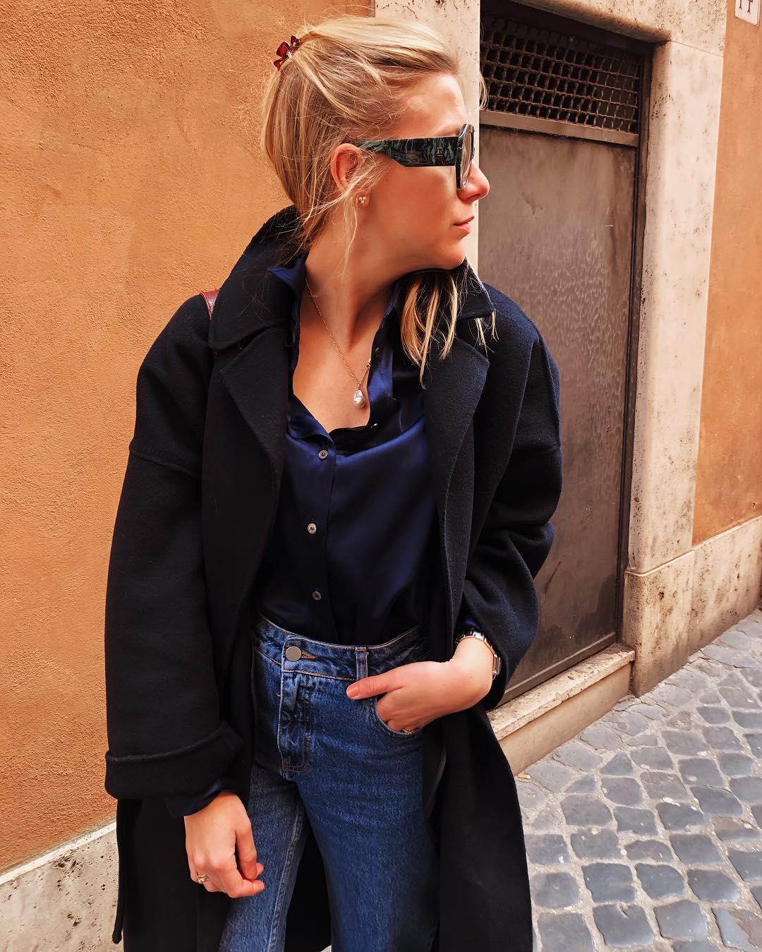 belt coat de Zara sur floackermans