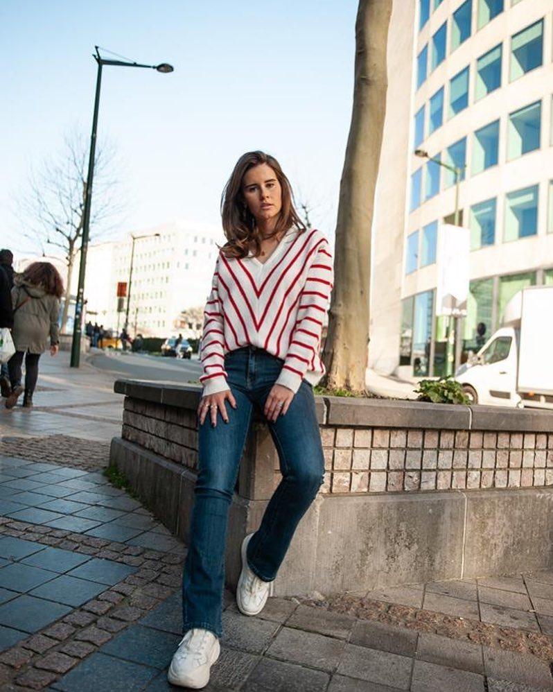 jeans bootcut de Les Bourgeoises sur scanlesbourgeoises