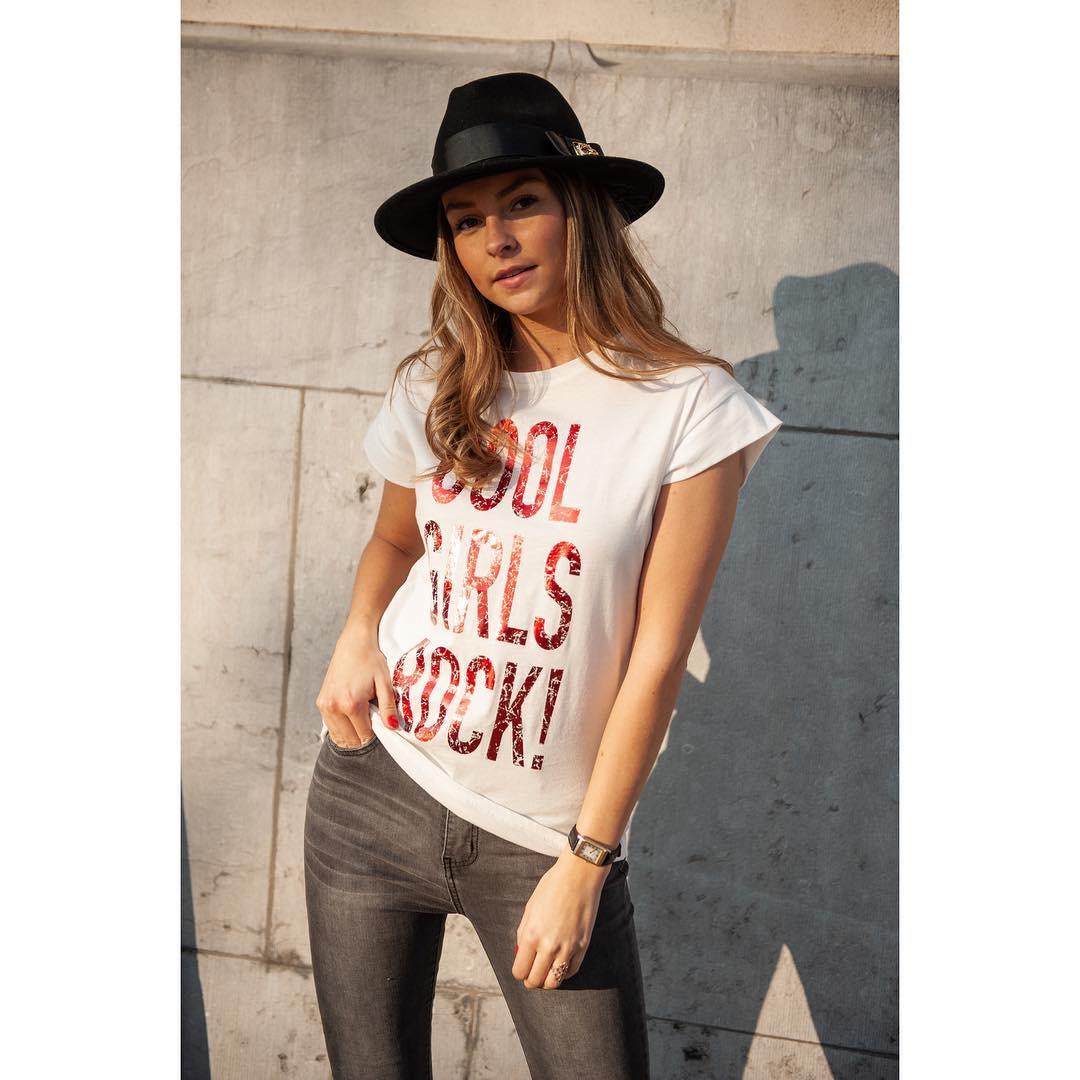 t-shirt rock rouge de Les Bourgeoises sur ophelie_dh
