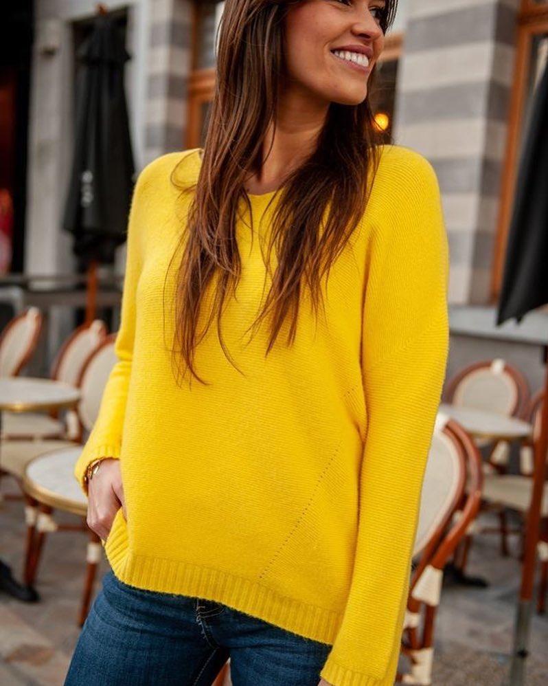 pull jaune serena de Les Bourgeoises sur scanlesbourgeoises