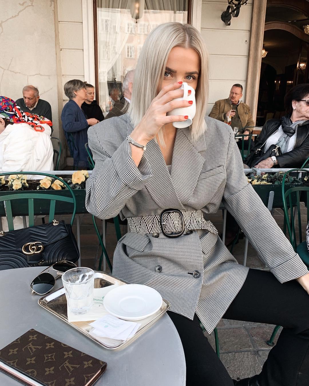 plaid jacket de Zara sur valentina.steinhart sur SCANDALOOK