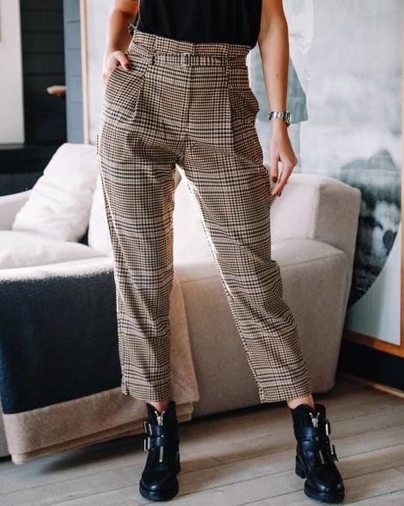 pantalon écossais de Les Bourgeoises sur scanlesbourgeoises