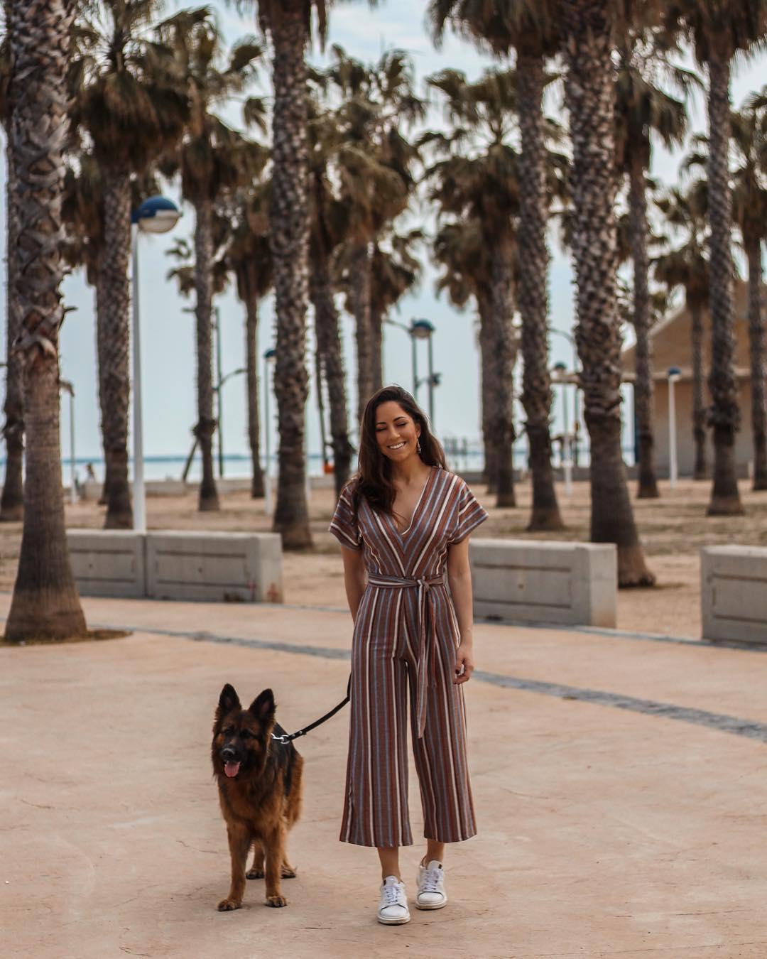 raw striped jumpsuit de Zara sur criscalatrava