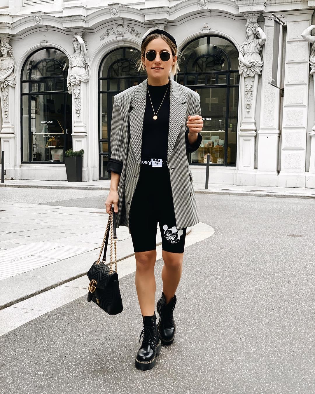 plaid jacket de Zara sur dani_nanaa