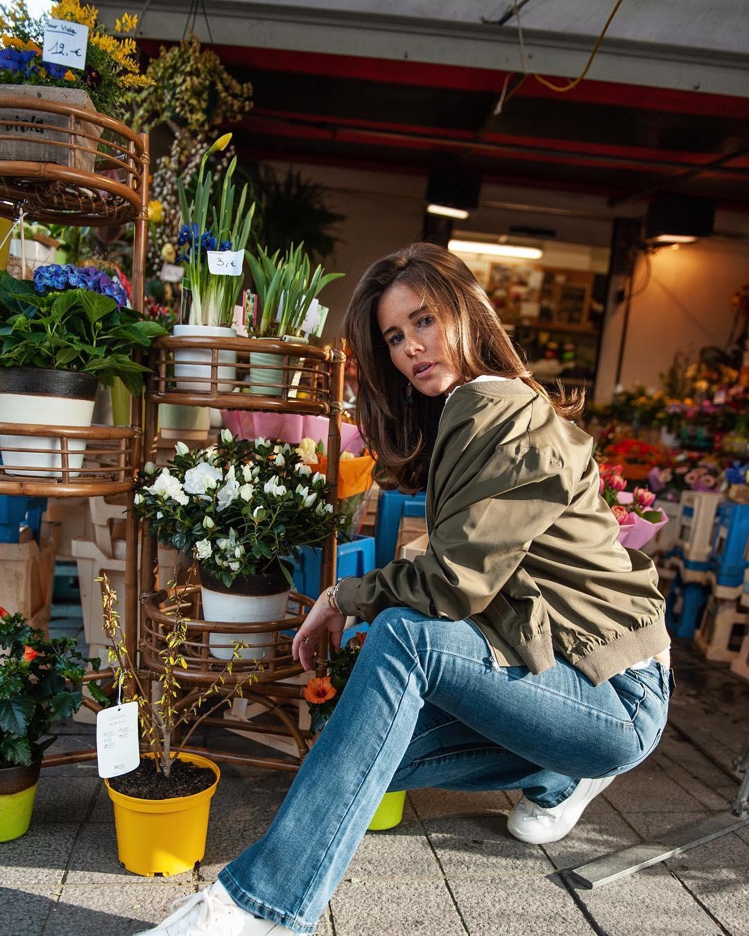 jeans bootcut de Les Bourgeoises sur lesbourgeoisesofficiel