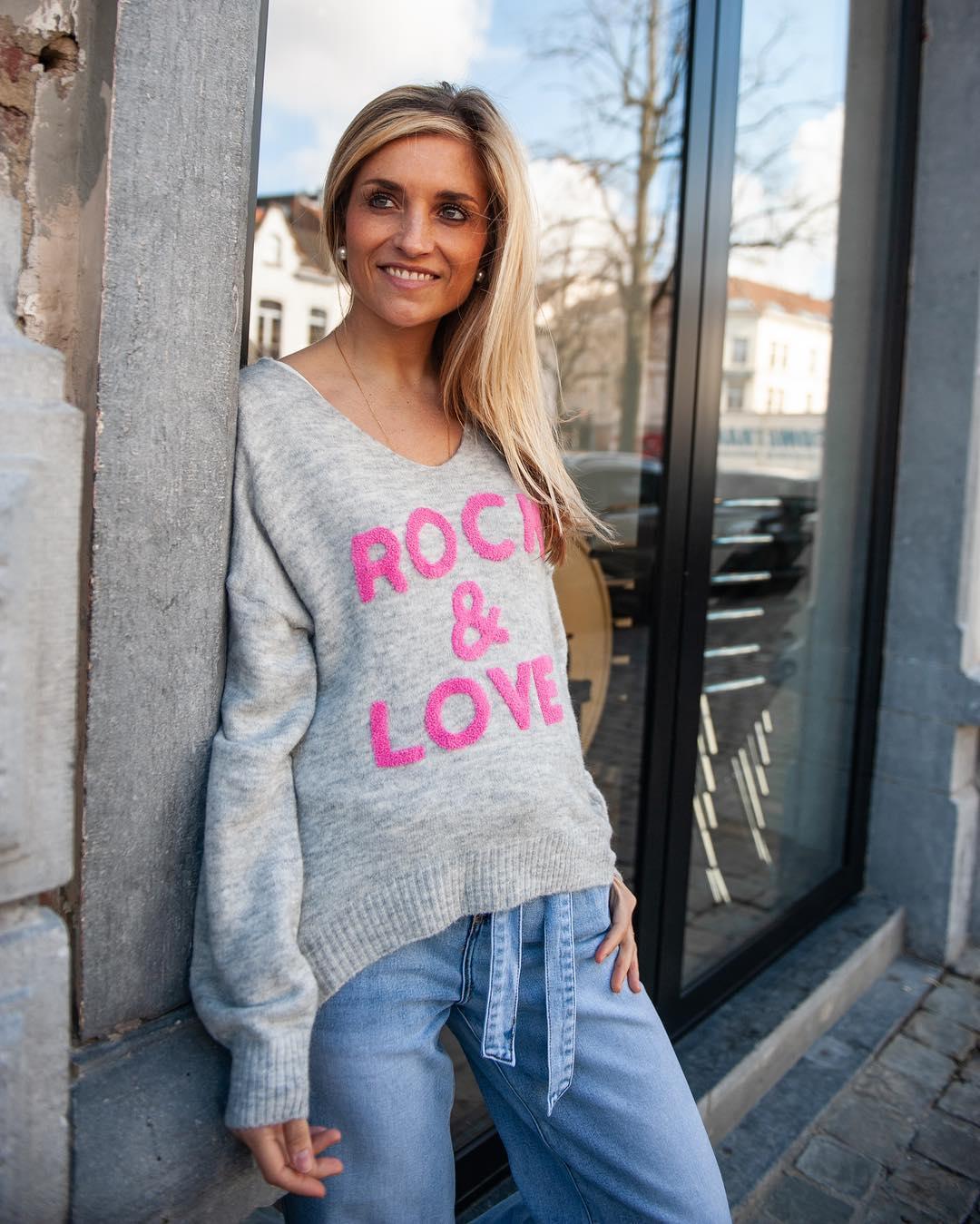pull rock & love de Les Bourgeoises sur lesbourgeoisesofficiel