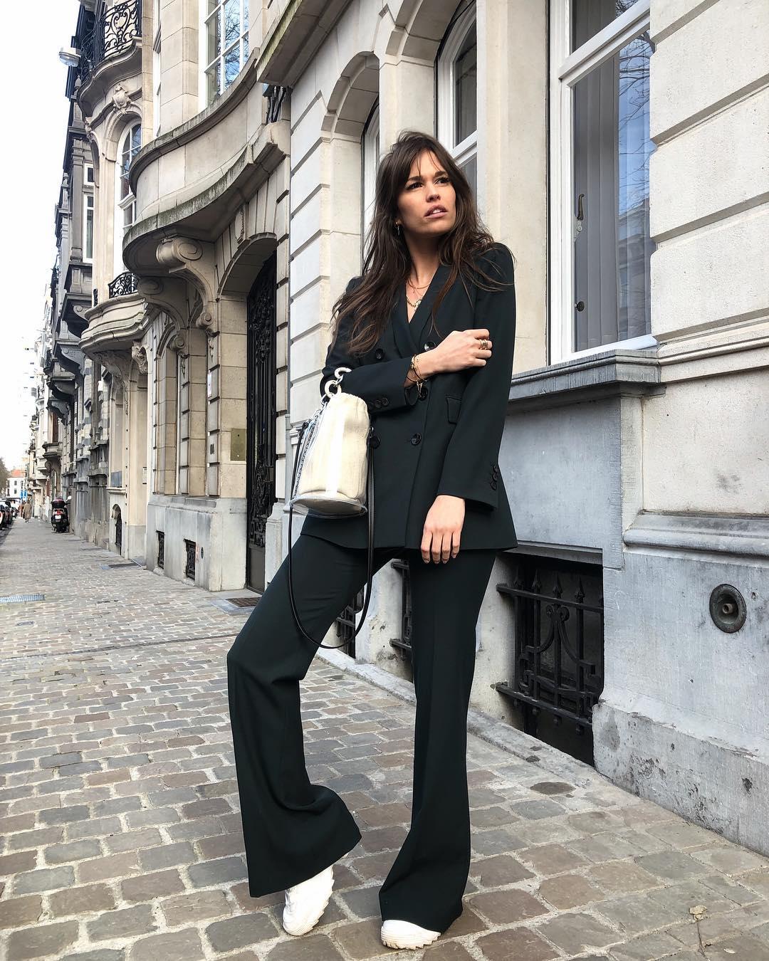 pantalon flare de Zara sur alisontoby