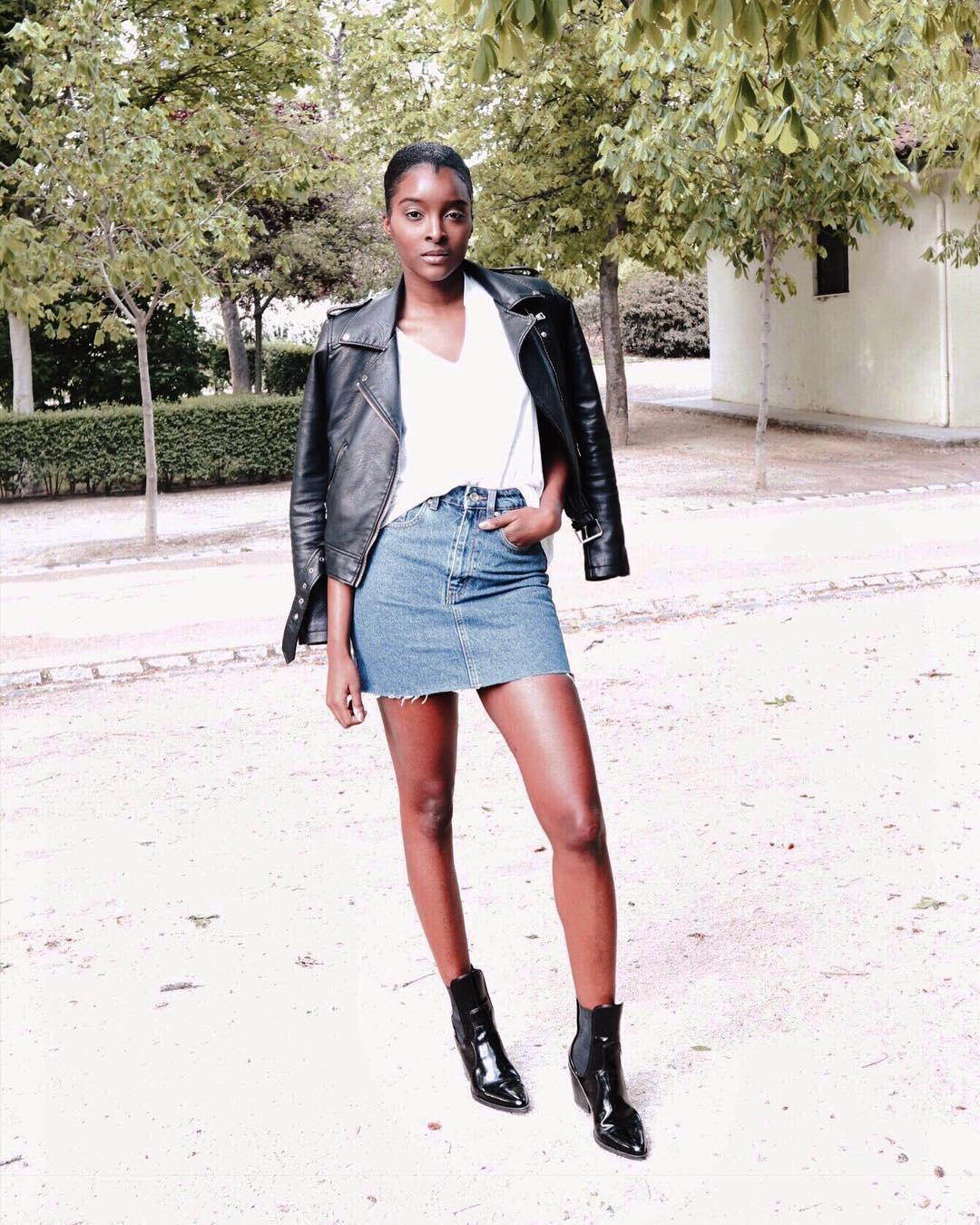 cowboy heel ankle boots de Zara sur naturallydidi