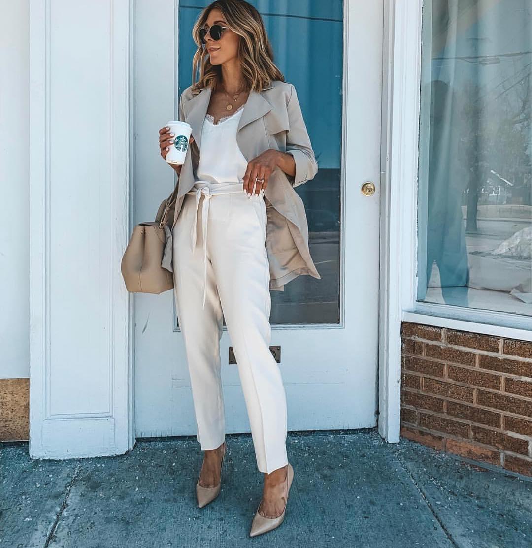 pantalon à ceinture de Zara sur zara__europe