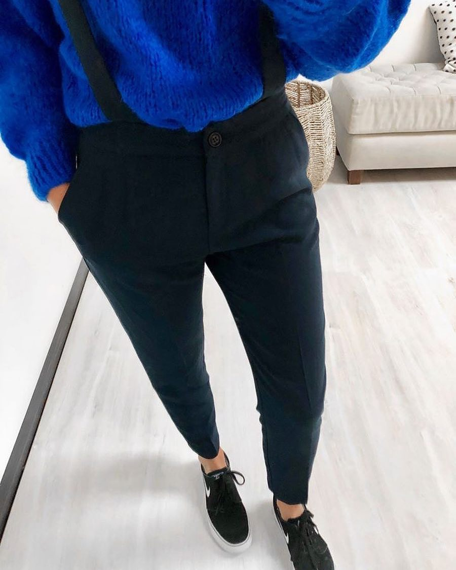 blue indy jumper de Les Bourgeoises sur scanlesbourgeoises