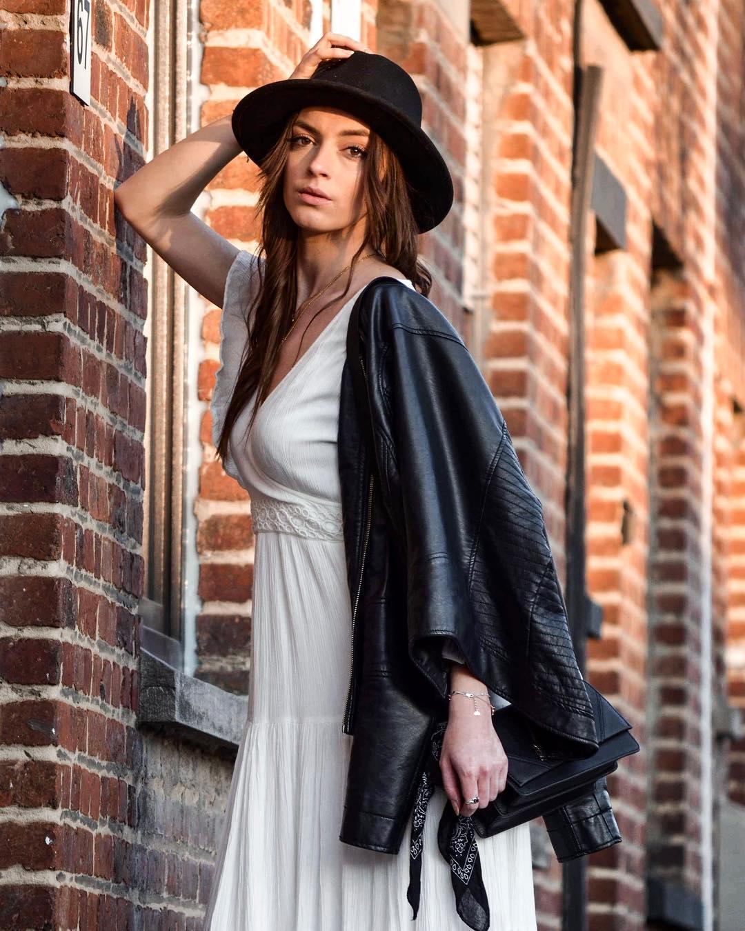 longue robe ecrue de Les Bourgeoises sur bourguignon.marie