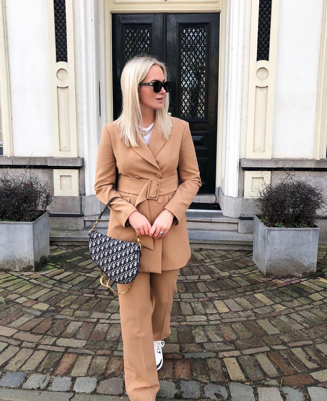 belt jacket de Zara sur looksofkim