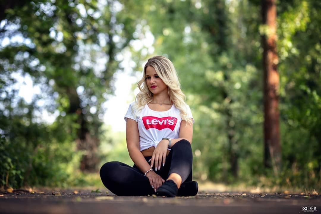 t-shirt levis blanc de Les Bourgeoises sur roder_photography