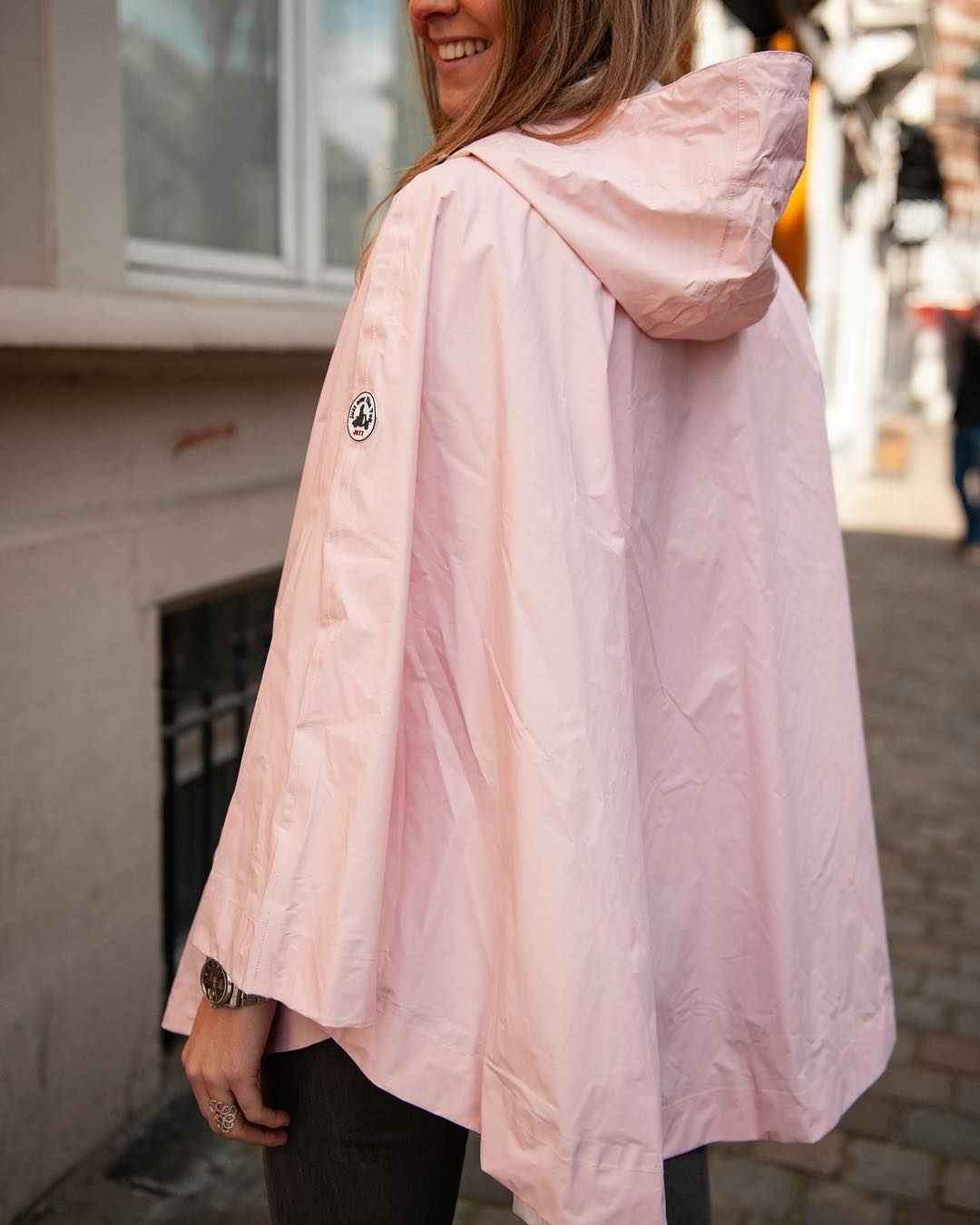 jott cape rose pale de Les Bourgeoises sur scanlesbourgeoises