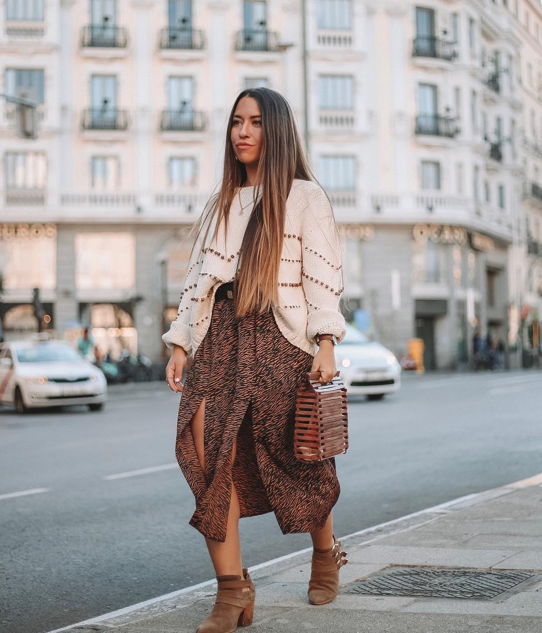pull en maille avec verroteries de Zara sur lorenagodoy