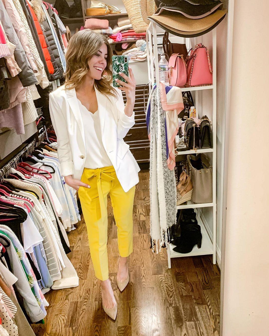 golden boutton pants de Les Bourgeoises sur mrs.simplylovely