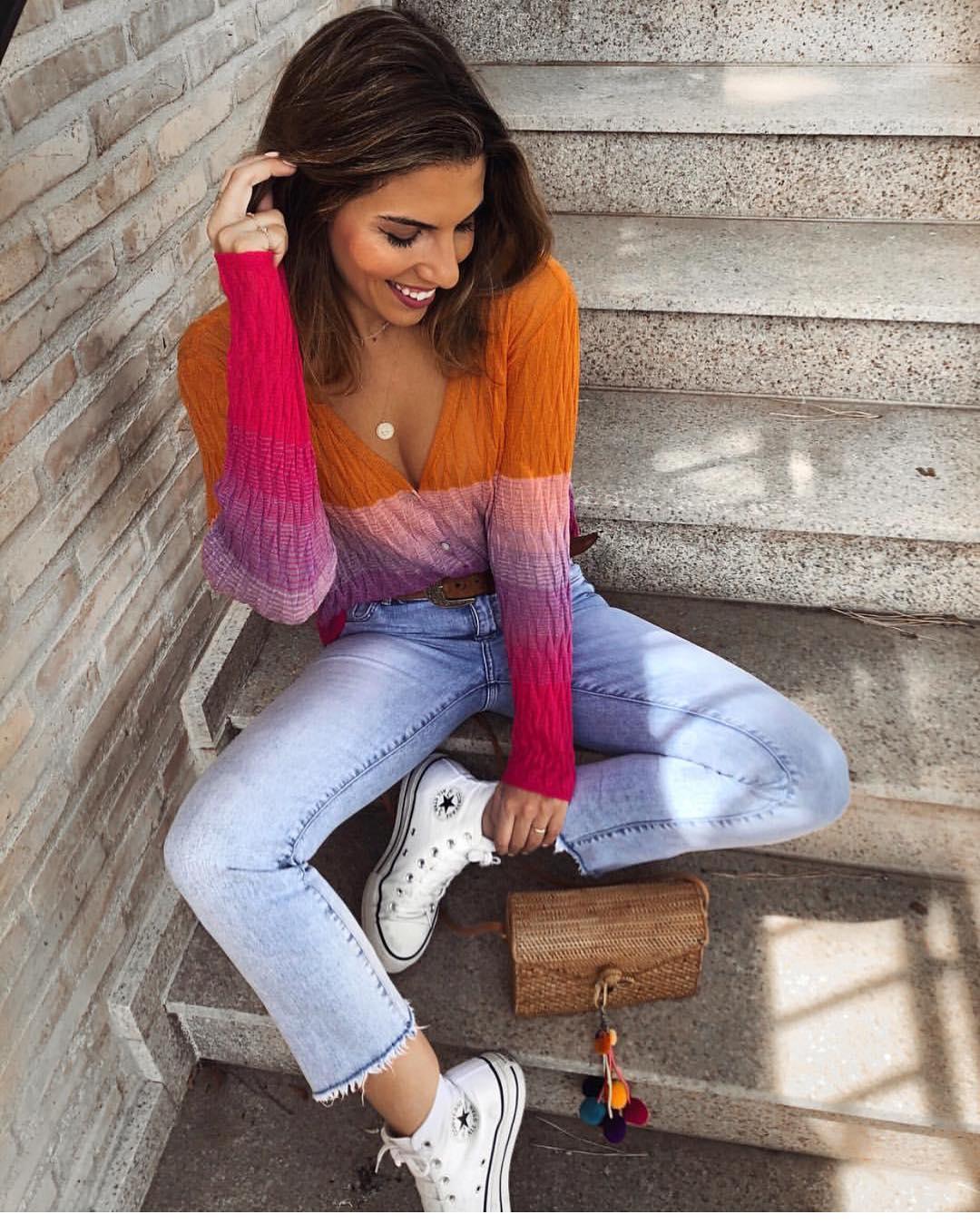 multicolor jacket de Zara sur zara__lovers
