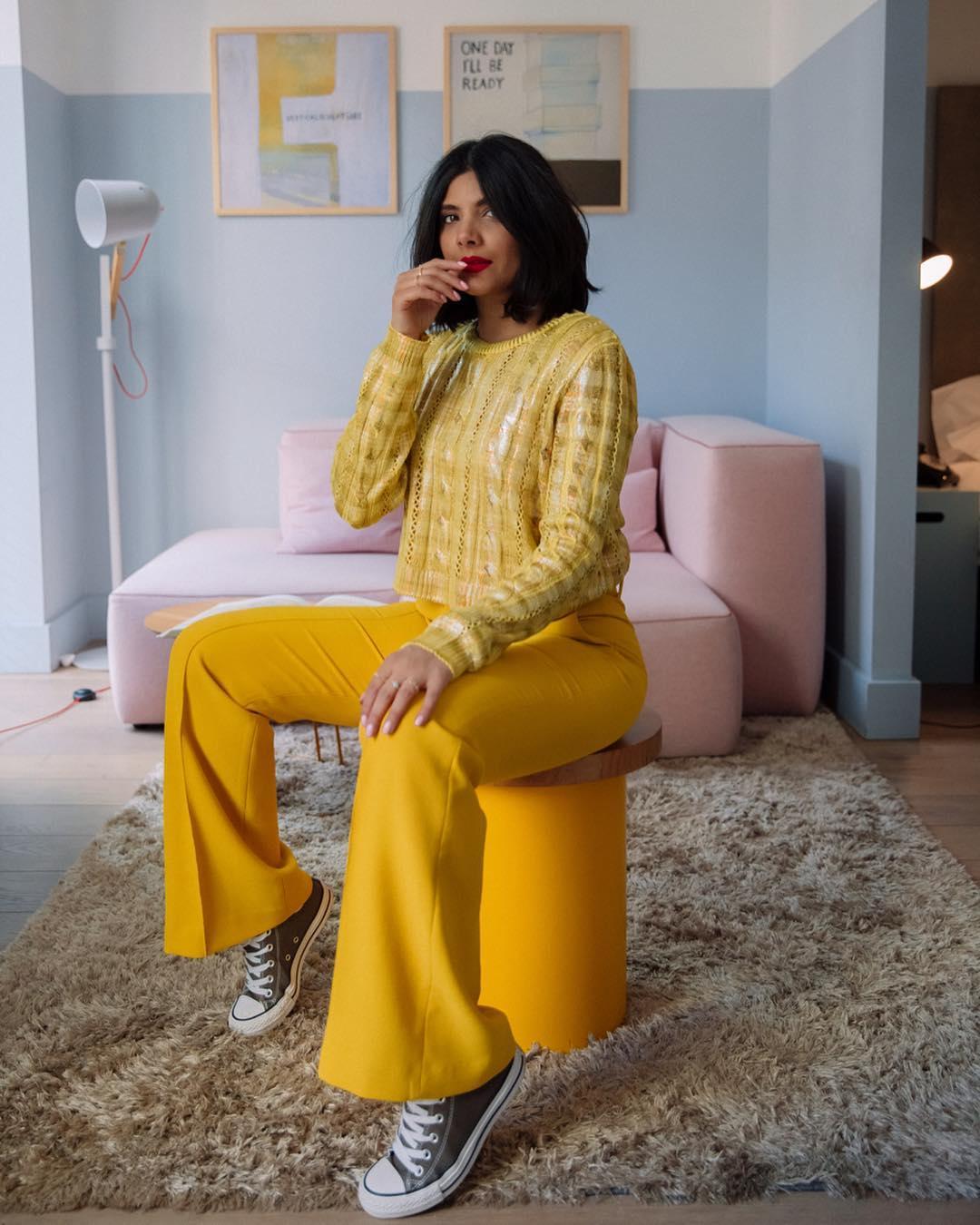 flare pants de Zara sur styledbydhillon