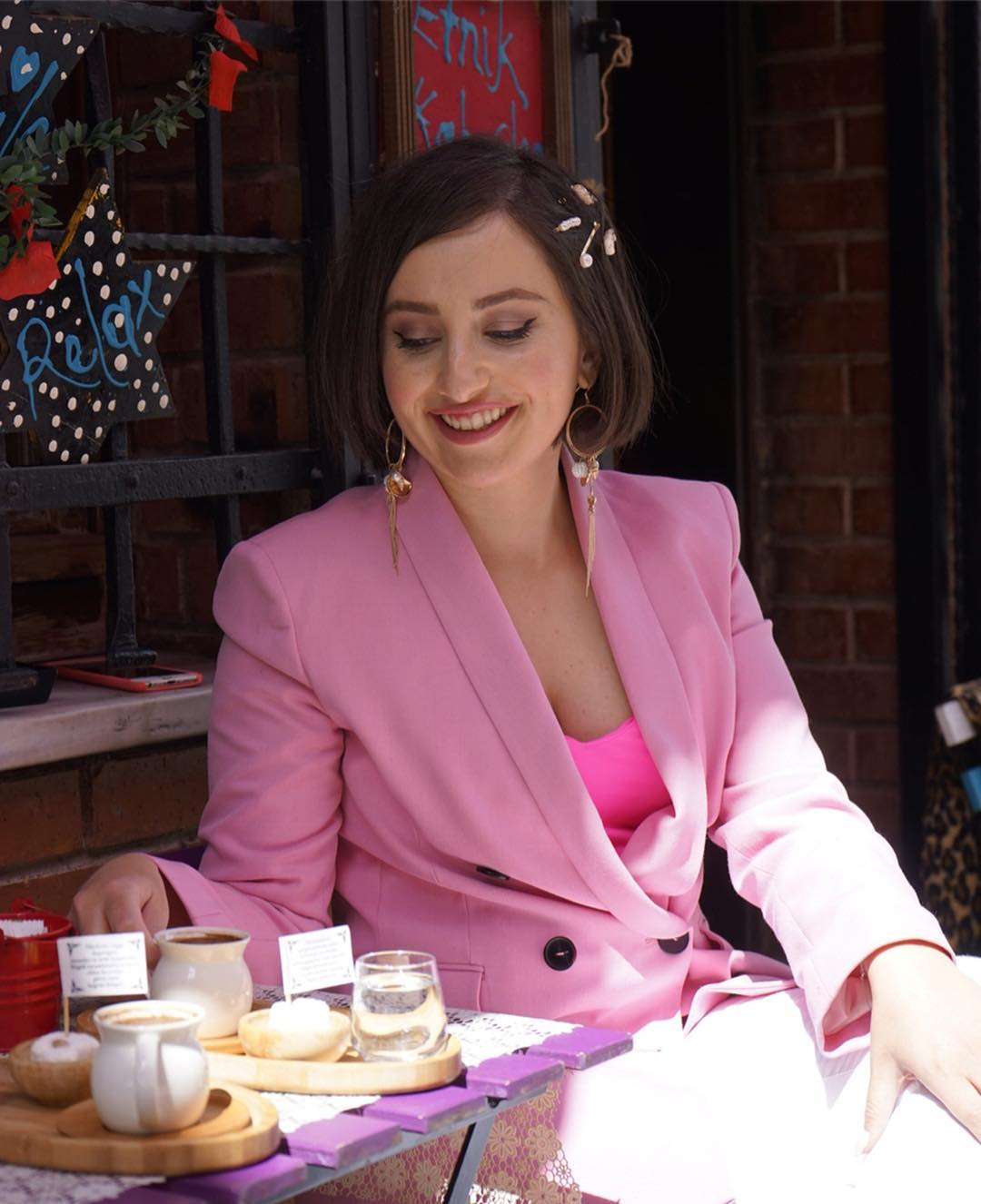veste à boutonnage croisé de Zara sur thetravelstylesleep
