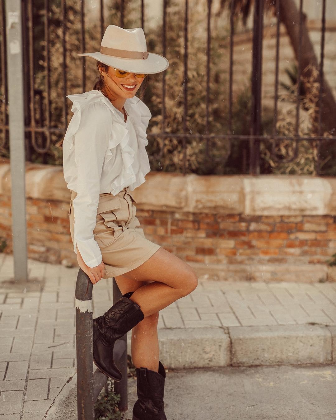 mini skirt with pockets de Zara sur jessiekass